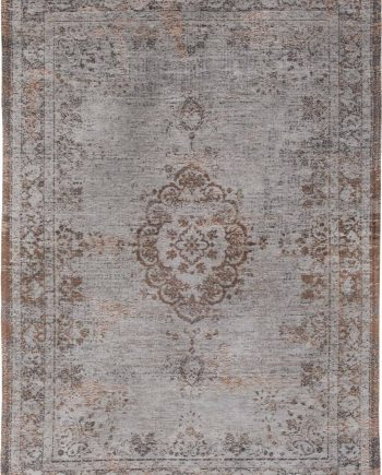tapis Louis De Poortere LX8257 Fading World Medaillon Grey Ebony