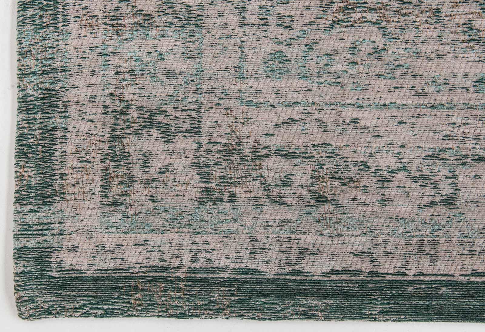 Louis de poortere tapis fading world jade oyster 8259 medallion design for Moquette louis depoortere