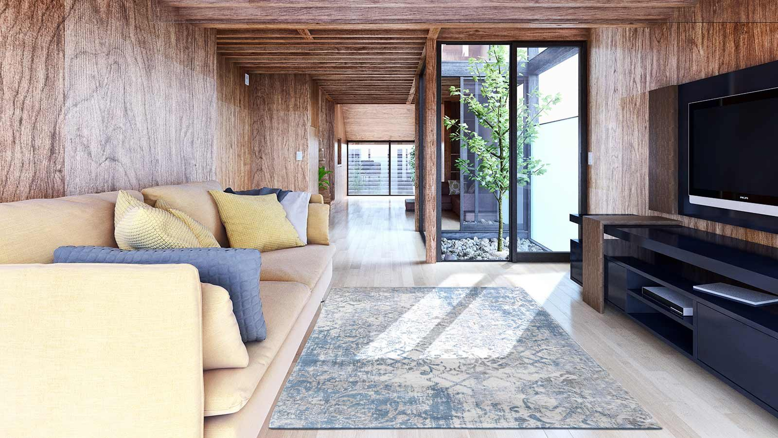 tapis Louis De Poortere LX8545 Fading World Babylon Alhambra interior