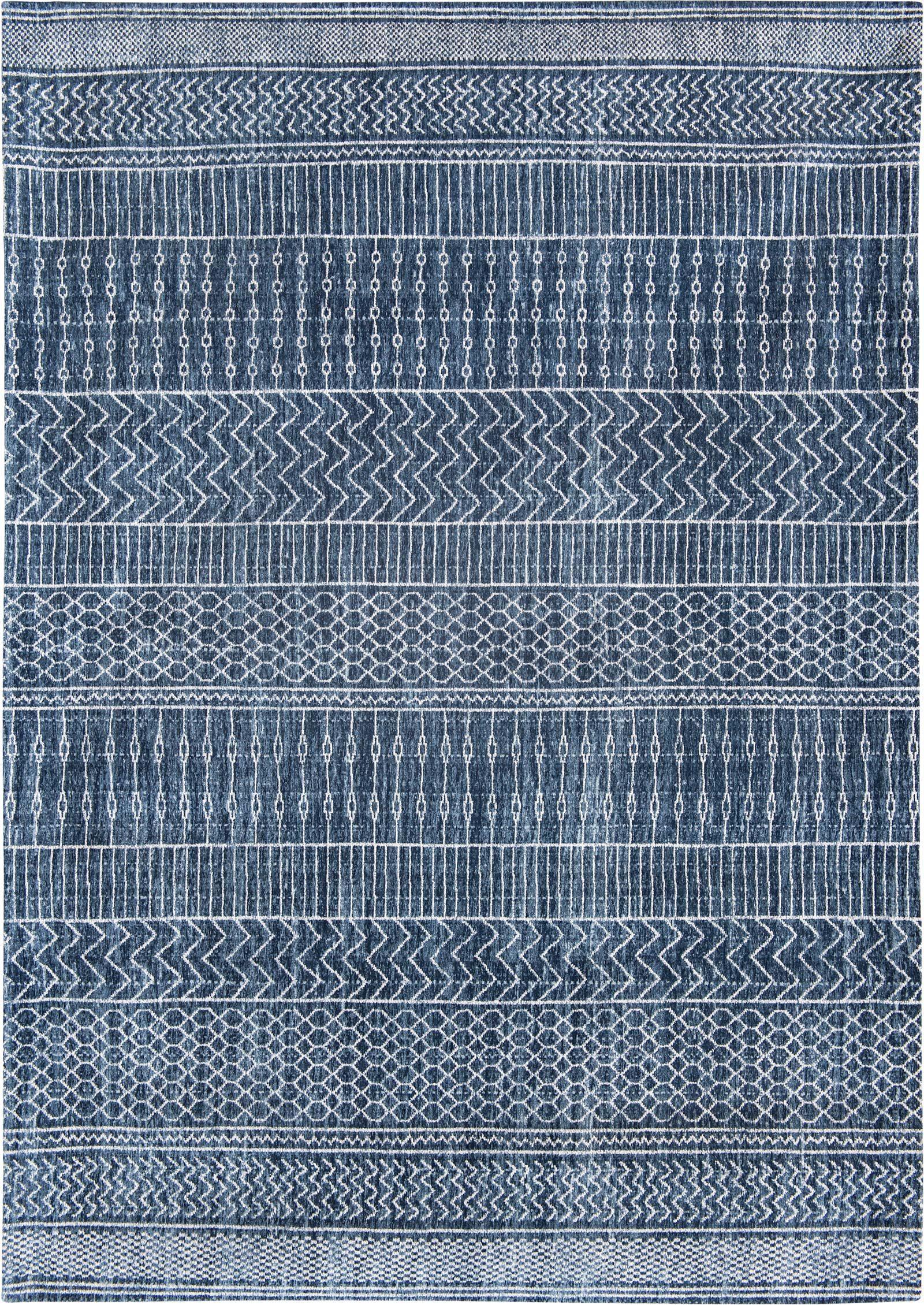 tapis Louis De Poortere LX8676 Scarab Blue
