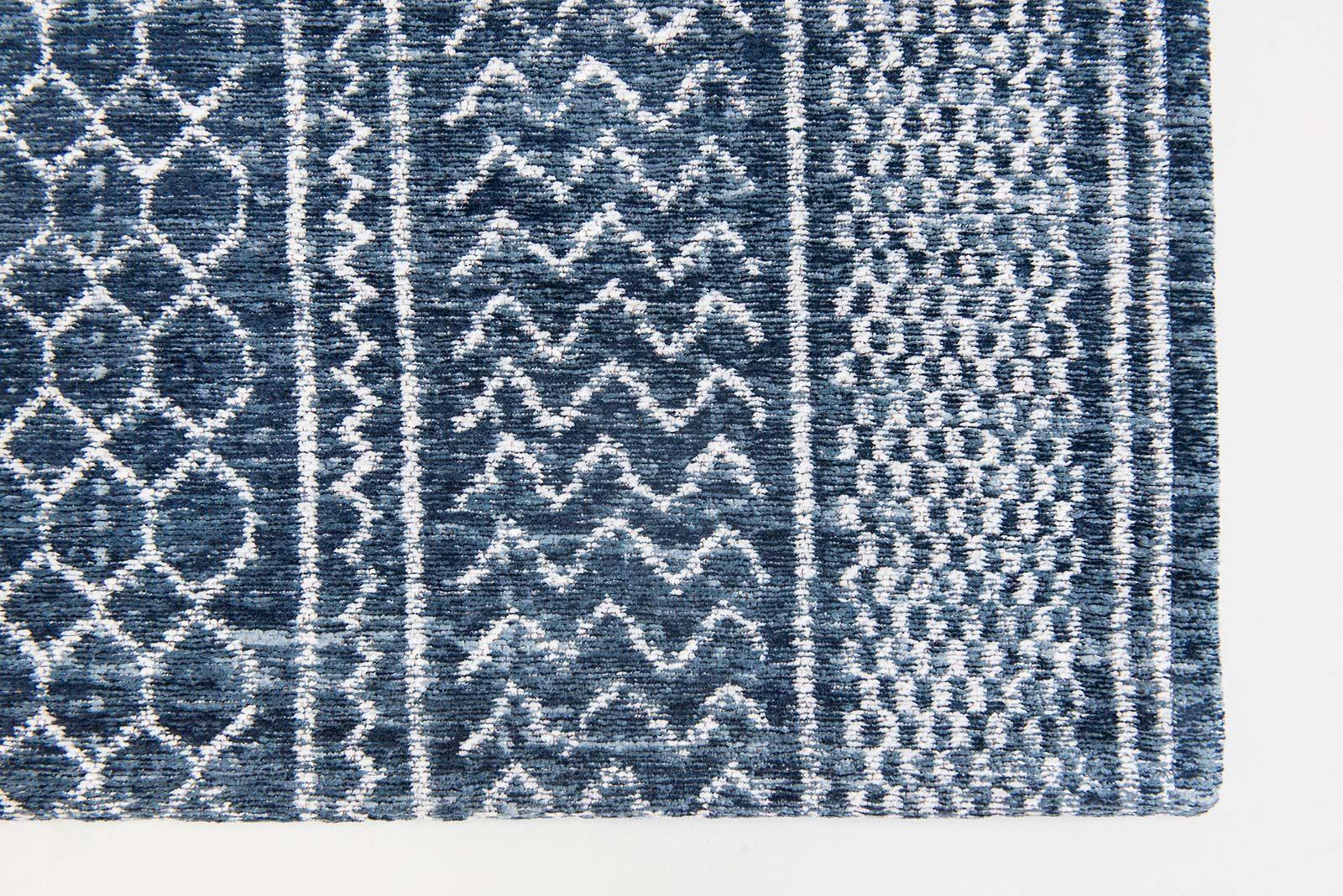tapis Louis De Poortere LX8676 Scarab Blue corner