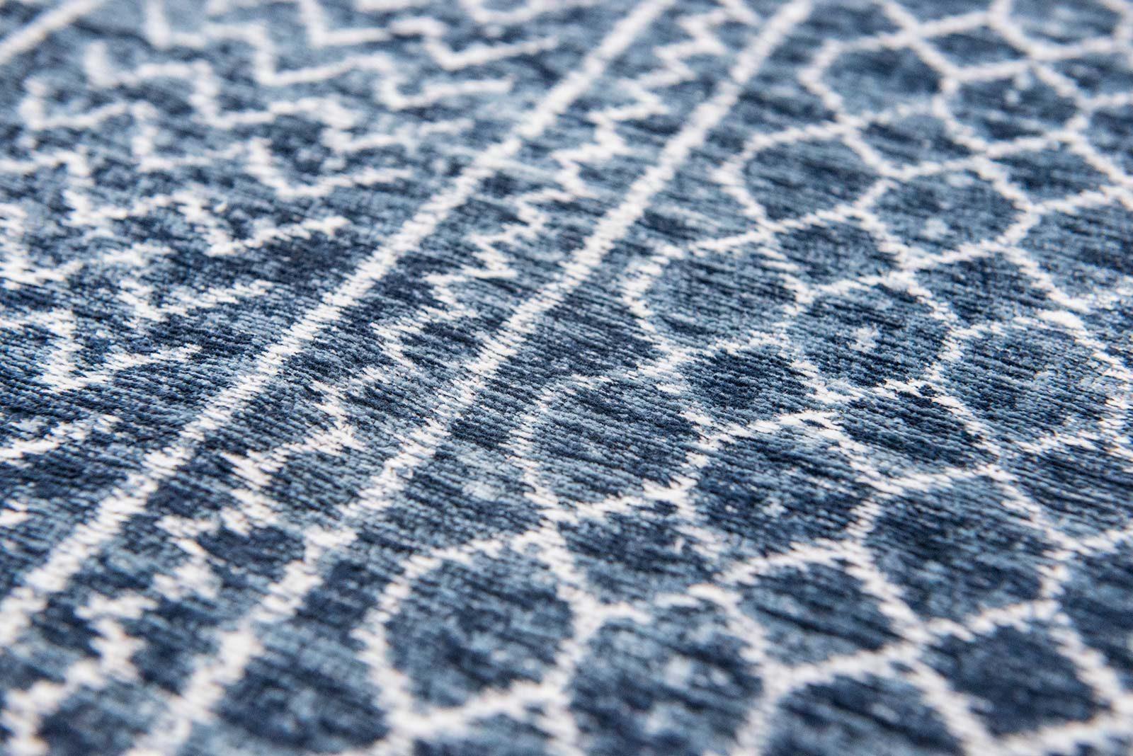 tapis Louis De Poortere LX8676 Scarab Blue zoom 3