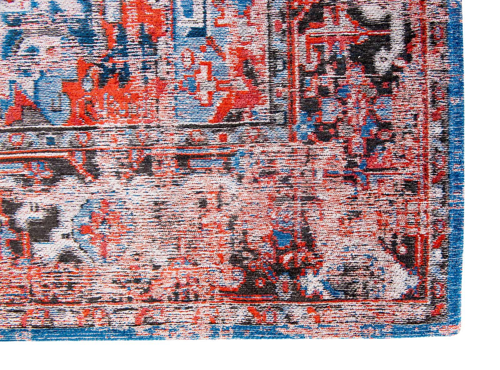 tapis Louis De Poortere LX8703 Antiquarian Antique Heriz Classic Brick corner