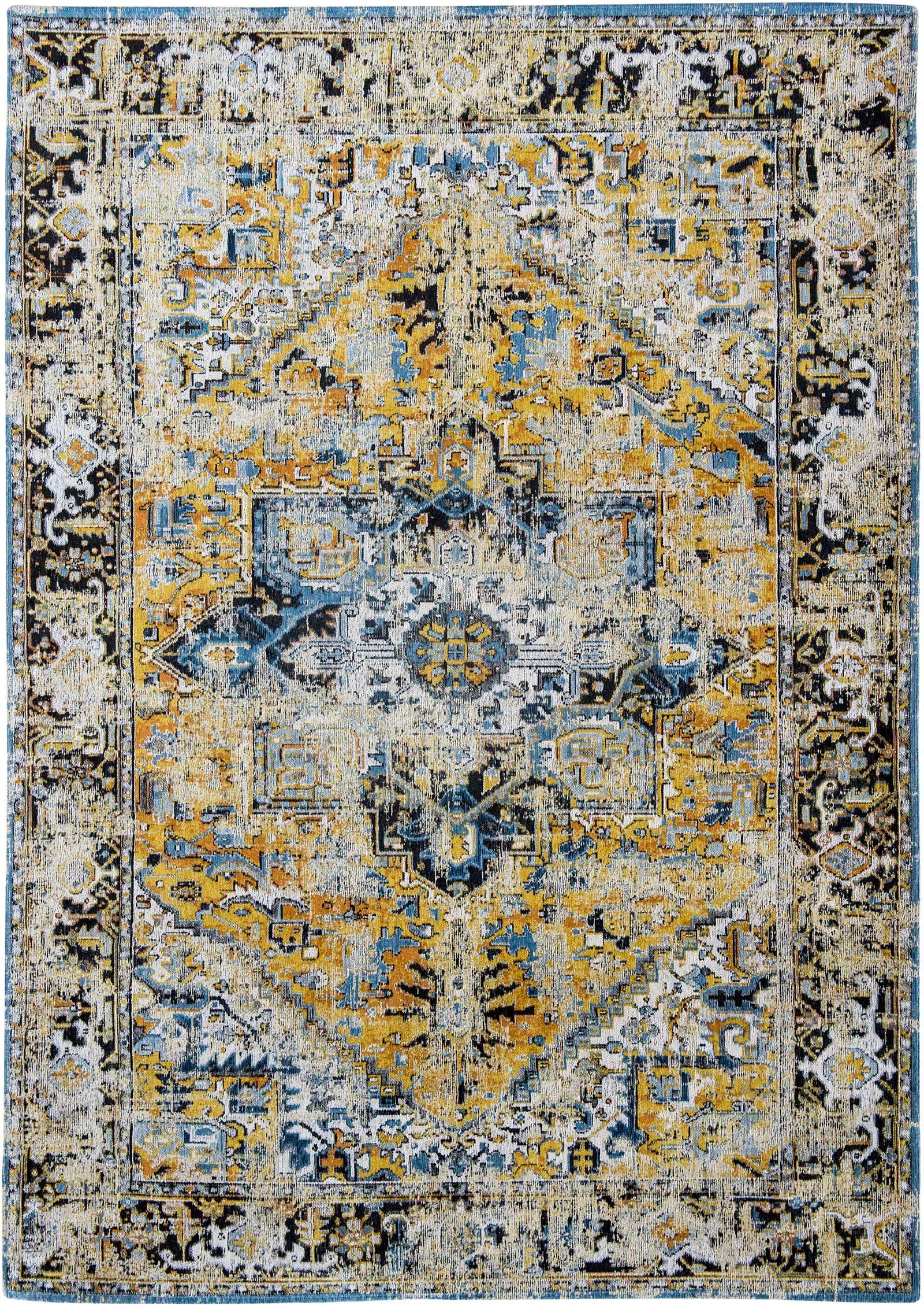 tapis Louis De Poortere LX8704 Antiquarian Antique Heriz Amir Gold