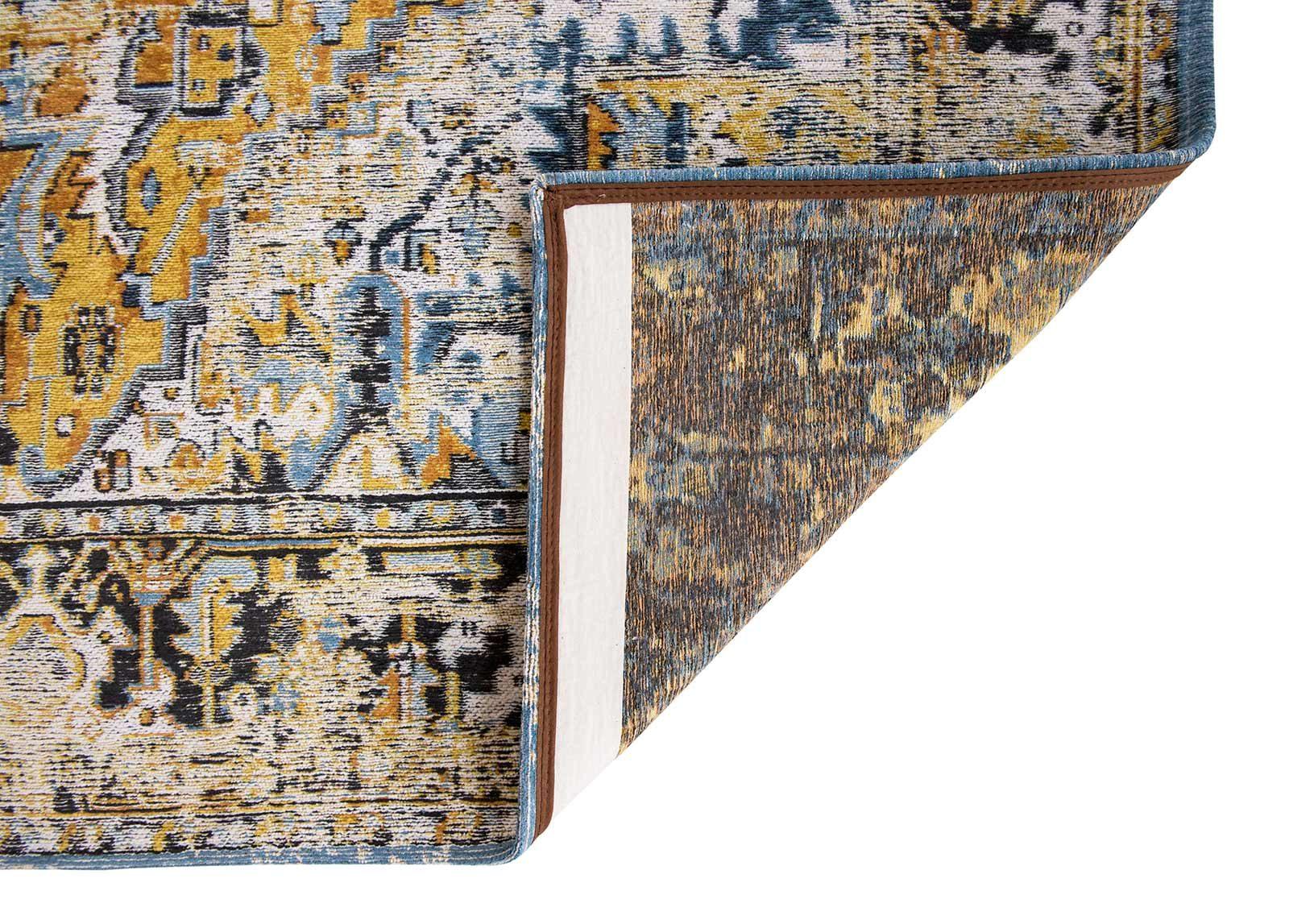 tapis Louis De Poortere LX8704 Antiquarian Antique Heriz Amir Gold back