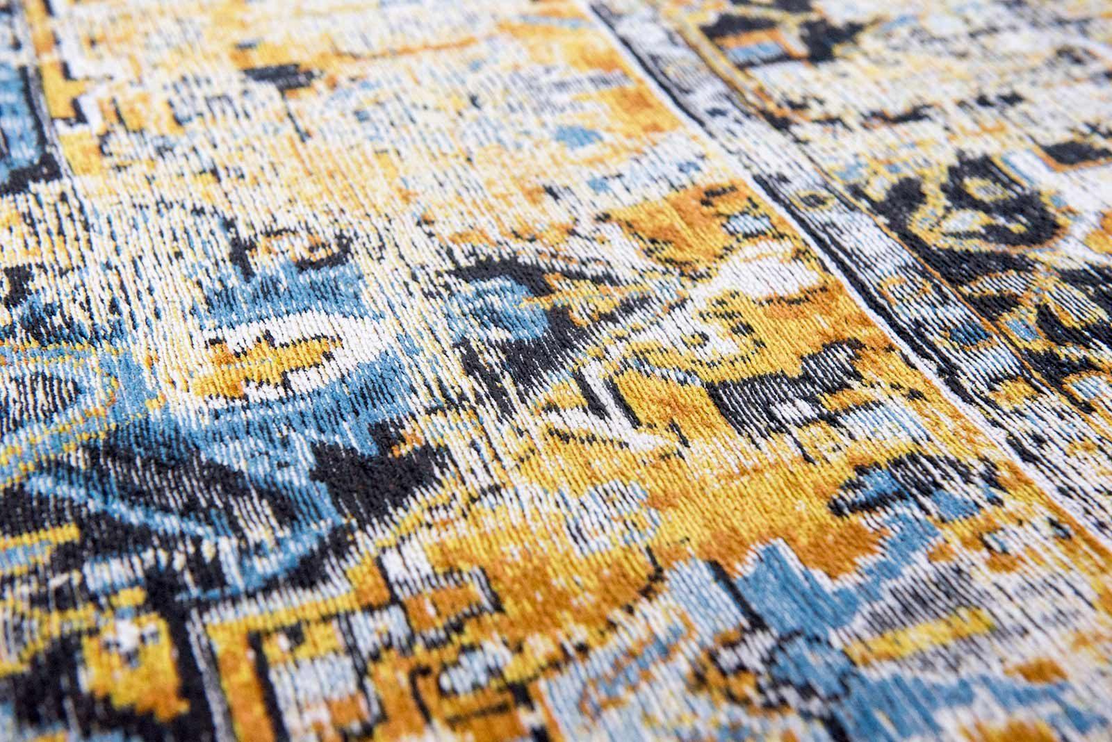 tapis Louis De Poortere LX8704 Antiquarian Antique Heriz Amir Gold zoom 1