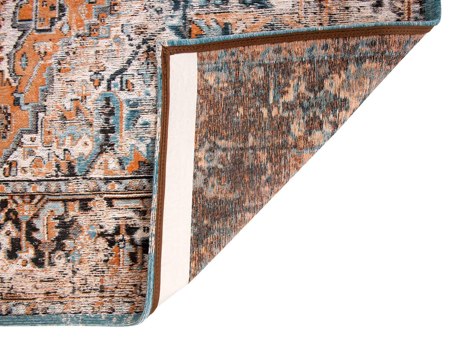 tapis Louis De Poortere LX8705 Antiquarian Antique Heriz Seray Orange back