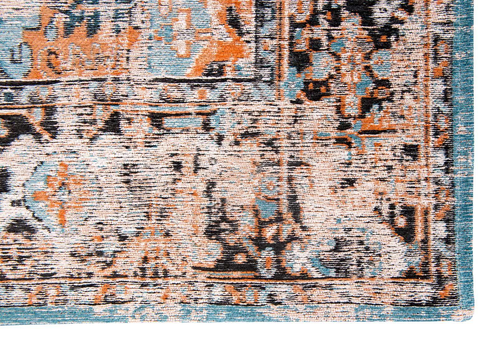 tapis Louis De Poortere LX8705 Antiquarian Antique Heriz Seray Orange corner