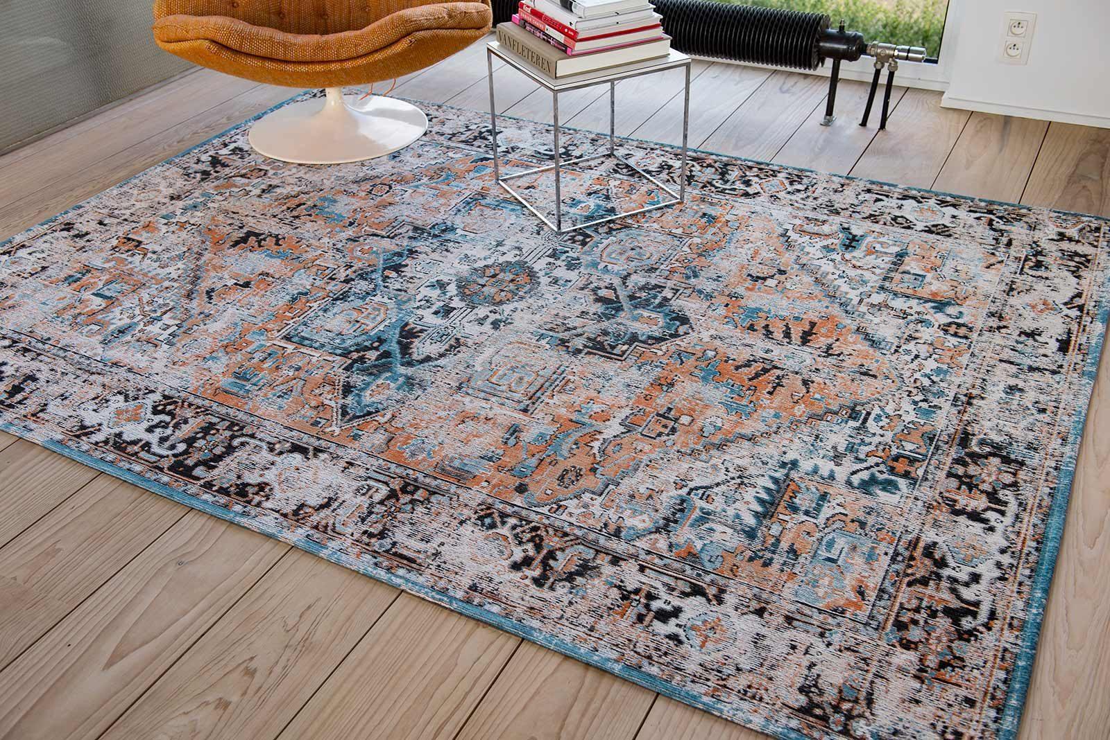 tapis Louis De Poortere LX8705 Antiquarian Antique Heriz Seray Orange interior