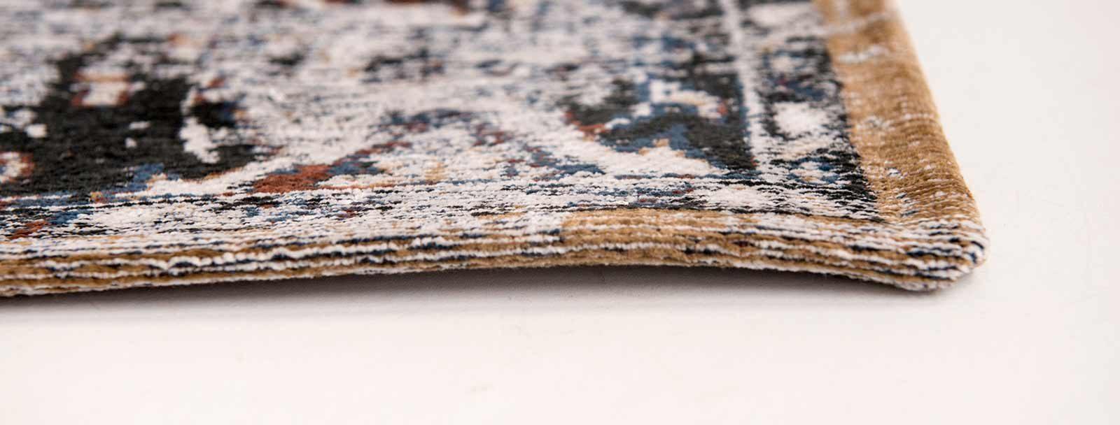 tapis Louis De Poortere LX8707 Antiquarian Antique Heriz Divan Blue side