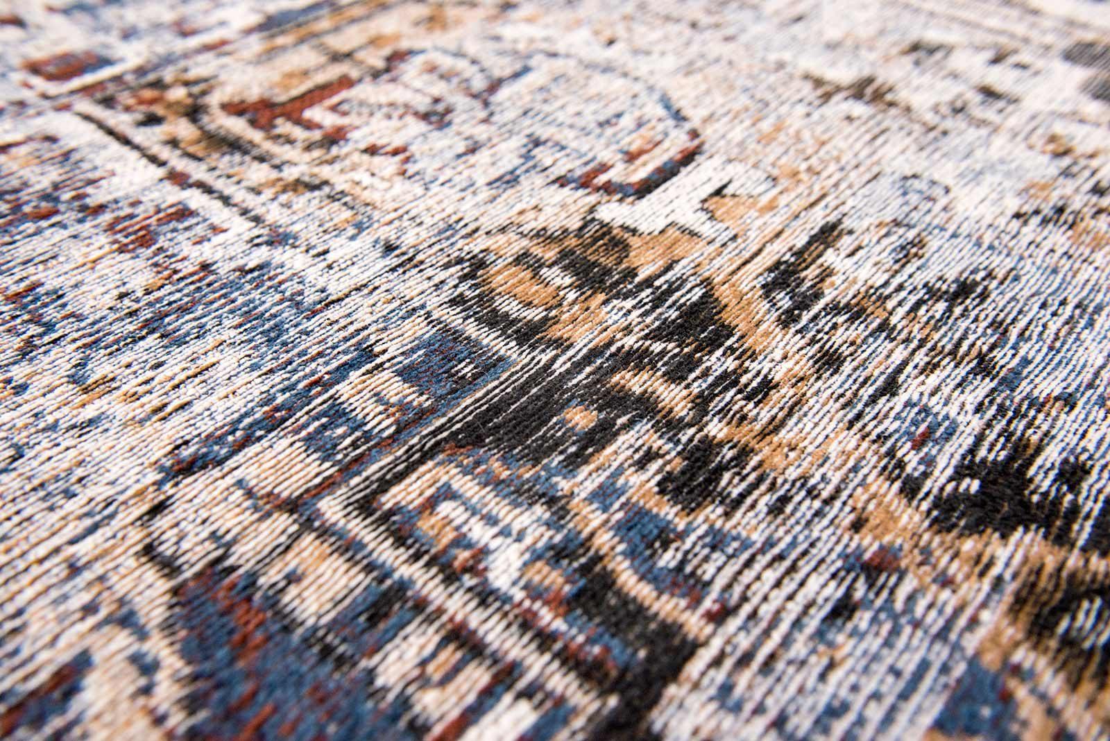 tapis Louis De Poortere LX8707 Antiquarian Antique Heriz Divan Blue zoom