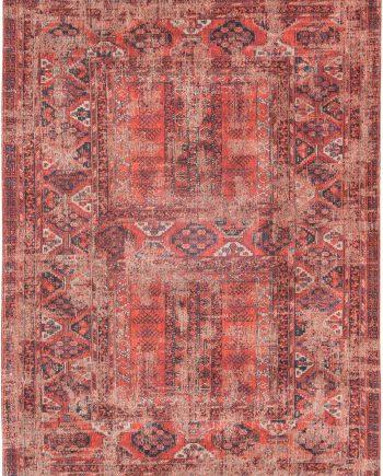 tapis Louis De Poortere LX8719 Antiquarian Antique Hadschlu 782 Red
