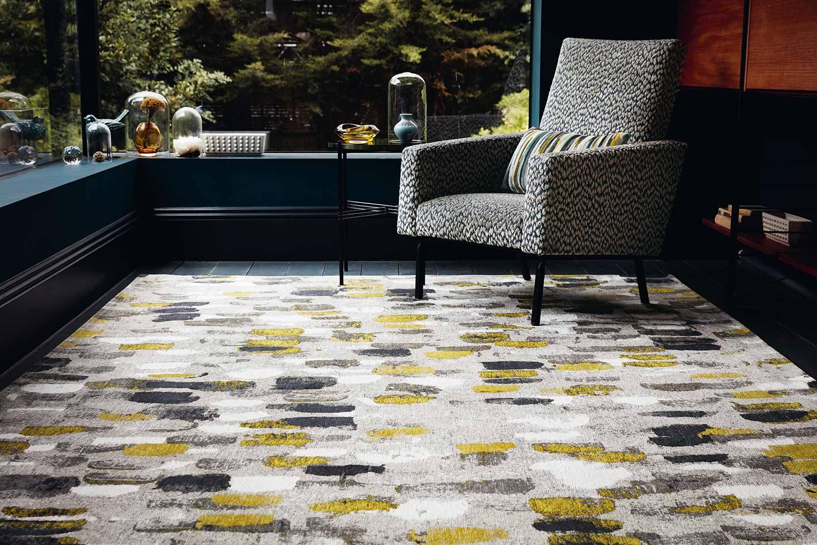 Louis De Poortere tapis Romo LX 8740 Murano Sunflower interior