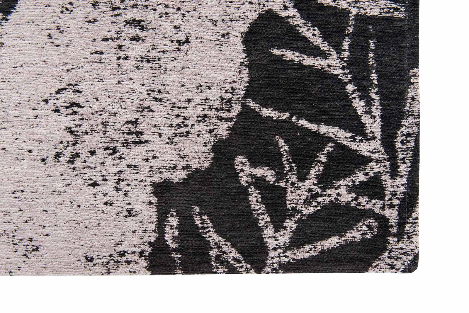 Louis De Poortere tapis Romo LX 8741 Lomasi Charcoal corner