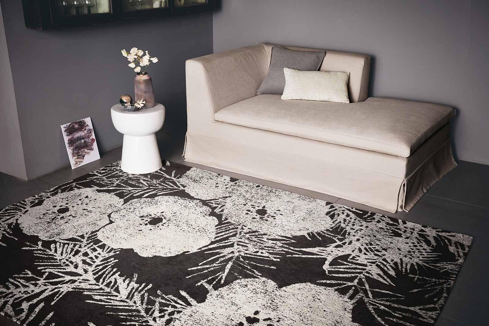 Louis De Poortere tapis Romo LX 8741 Lomasi Charcoal interior