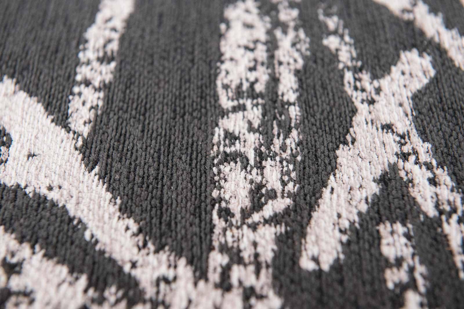 Louis De Poortere tapis Romo LX 8741 Lomasi Charcoal zoom 4
