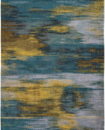 Louis De Poortere tapis LX 9119 Atlantic Monetti Nymphea Blue
