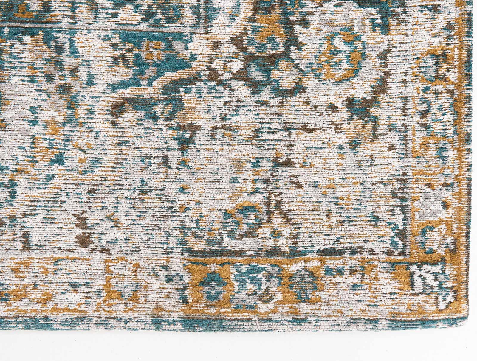 Louis De Poortere tapis LX 9127 Antiquarian Bakhtiari Fener corner