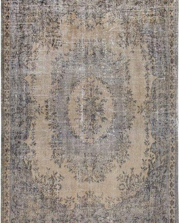 Louis De Poortere tapis LX 9138 Palazzo Da Mosta Colonna Taupe