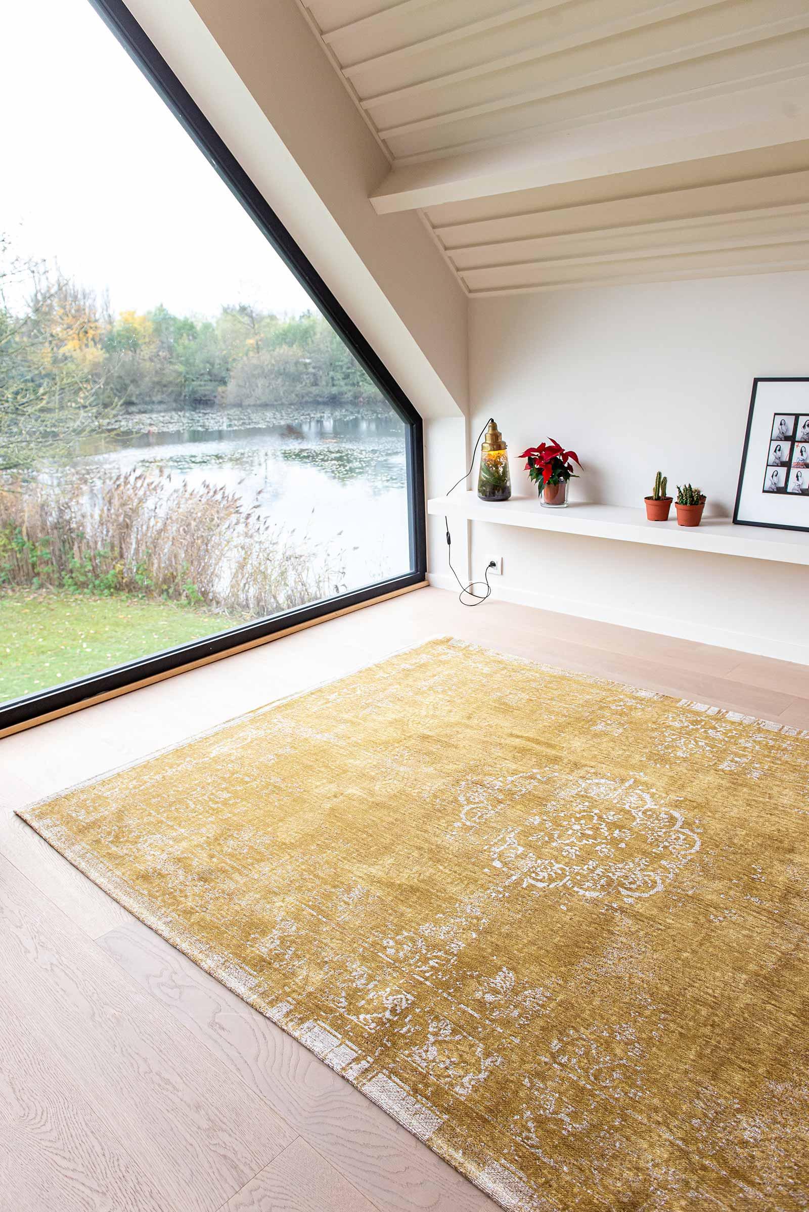 Louis De Poortere tapis LX 9145 Fading World Spring Moss interior 10