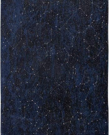 Louis De Poortere tapis Fischbacher 9060 Celestial Midnight Blue